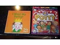 Potty training themed books 😊