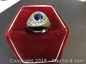 Aylmer High School Sterling Ring