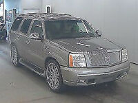 FRESH IMPORT 2004 CADILLAC ESCALADE 8 SEATER AUTOMATIC