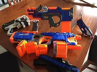 Nerf collection - Various Blasters