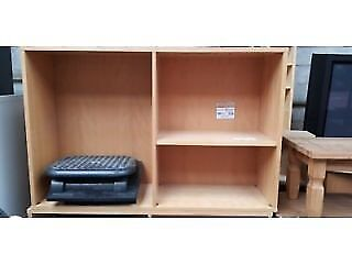 Wooden Bookcase ( 2 Available )