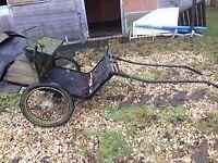 Pony cart/horse trap