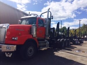 2004 Western Star Truck with Quad trailer C-15 550