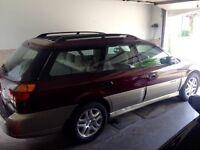 2000 Subaru Outback beige Familiale