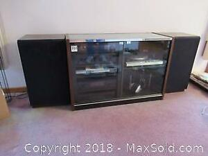 Stereo And Cabinet C