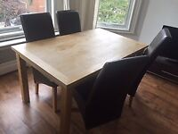 Large Pine Dining Table in great condition!