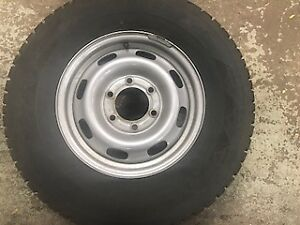 SNOW TIRES WITH RIMS
