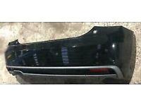Audi A1 8x black edition Sline rear bumper complete pdc sensor grills av