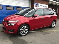 CITROEN C4 GRAND PICASSO 1.6 E-HDi AIRDREAM EXCLUSIVE 5dr 7 Seater (red) 2014