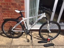 FOR SALE. Female Carrera Valour Bike. With mud guards & accessorries £175.00 ono