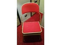 Sadler Folding Metal Chairs