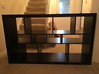 Ikea Black Lounge storage unit