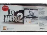 Playstation 3 DJ Hero 2 Turn Table + CD
