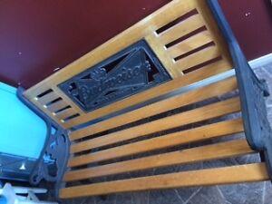 Budweiser Garden/Park Bench