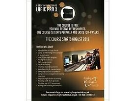 MUSIC ASSOCIATION OFFERING FREE LOGIC PRO LESSONS