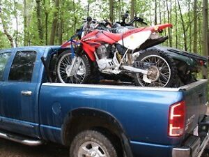 Quad and Dirtbike Rack For Pick-up Box