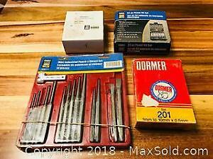 Drill Bits and Punch Sets and More