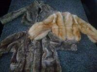 Fur coat x 3