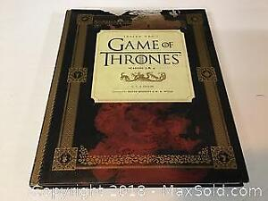 Game of Thrones hardcover book