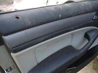 BMW e46 SPORT m sport CARBON DASHBOARD INTERIOR