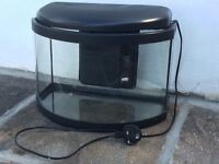 Fish tank small with in built pump