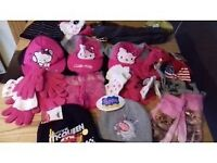 wholesale joblot of childrens new hats,gloves,scarfs,40 items all new