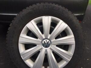 4 pnens, roues et enjoliveurs Jetta 2014
