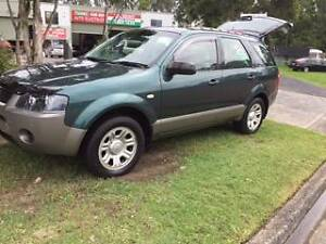 2006 Ford Territory Wagon Berkeley Vale Wyong Area Preview