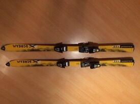 Xscream kids Salomon skis. 140cm