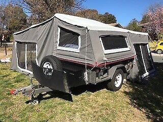 Camper Trailer Semi Off Road