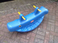 Little Tikes Whale Rocker - 3 Seater - Roundhay Park Leeds 8 - Can Deliver