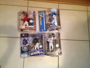 4 NEW AND SEALED Baseball Figures