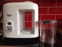 Tommee Tippee Baby Food Steamer/Blender