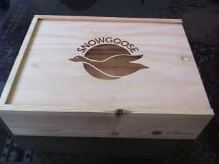 1 Snow Goose Wooden Box wih Lid Matraville Eastern Suburbs Preview