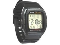CASIO large numeral watch - slightly used