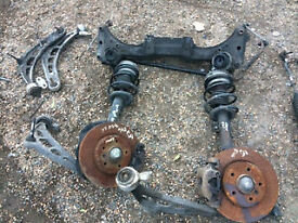 bmw e46 3 series 320i & diesel msport suspension parts wishbone drive shfts hubs call fitted