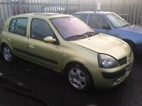 2004 RENAULT CLIO 1100 DIESEL - BREAKING FOR PARTS