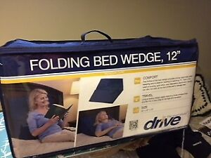 DRIVE FOLDING BED WEDGE 12""