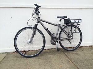 Marin men's bicycle converted to electric. Bentleigh Glen Eira Area Preview