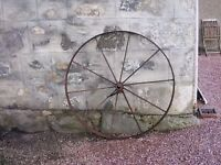 old iron wheel for sale