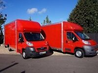 3.5 7.5 TONNE LUTON VAN HIRE AND TRUCK MAN REMOVALS DELIVERY SERVICE HOUSE MOVING LORRY WITH MOVERS