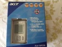 Acer MP3 player BNIB
