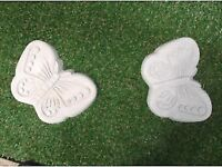 Stepping stones (decorative butterfly design)