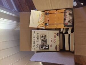 Box of assorted fiction and special interest books