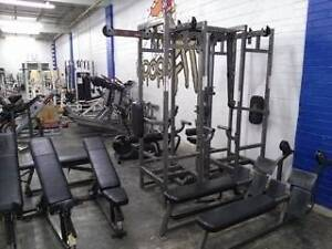GYM 4 SALE - ALL NEW CAGE, WEIGHTS, BENCHES DUMBBELLS, MATS Castle Hill The Hills District Preview