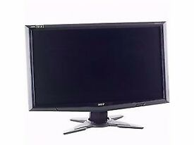 2x 23.4 Inch 3D 120hz ACER GD245HG Monitors with Nvidia 3D Vision Kit