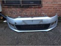 VW POLO 2009-2012 ONWARDS FRONT BUMPER FOR SALE