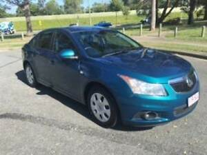 2012 HOLDEN CRUZE CD 1.8 MANUAL SEDAN (94000KMS,12/2017 REGO) Rochedale South Brisbane South East Preview