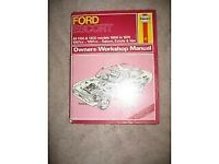 Ford Escort Car Manual