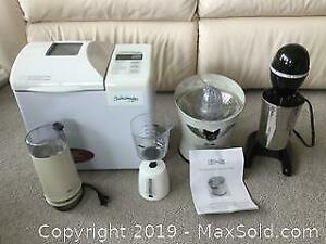 Small Kitchen Appliance Lot 3 (A)